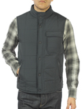 [JEREMIAH� Men's Sid Quilted Nylon Vest]