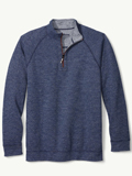 [Tommy Bahama� On The Double Half Zip Reversible Sweater]