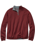 [Tommy Bahama� Men's Flip Side Pro Reversible Half-Zip Sweatshirt]