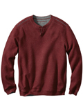 [Tommy Bahama� Men's Flip Side Pro Reversible Abaco Sweatshirt]