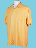 [Tommy Bahama� Men's Hamilton IM Solid Camp Shirt]
