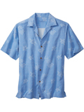 [Tommy Bahama� Men's Aloha Floral Camp Shirt]