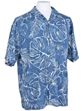 [Tommy Bahama� Men's Fairweather Fronds IslandZone Camp Shirt]