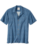 [Tommy Bahama� Men's Geo-Rific Jacquard Camp Shirt]