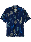 [Tommy Bahama� Men's Latin Fusion Camp Shirt]