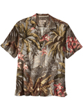 [Tommy Bahama� Men's Jungle Gardens Camp Shirt]