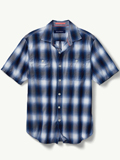 [Tommy Bahama� Men's Plaid For You Camp Shirt]