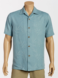 [Tommy Bahama� Men's Luau Floral Camp Shirt]