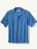 [Tommy Bahama� Men's Thatch Of The Day IslandZone Camp Shirt]