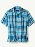 [Tommy Bahama� Men's Plaid-O-Matic Camp Shirt]