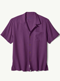 [Tommy Bahama� Men's Royal Bermuda IslandZone Camp Shirt]