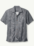 [Tommy Bahama� Men's Pacific Floral Camp Shirt]