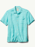 [Tommy Bahama� Men's Keep It In Check IslandZone Camp Shirt]