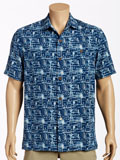 [Tommy Bahama� Men's Medina Nights Camp Shirt]