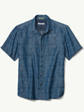 [Tommy Bahama� Men's Block Party Palms Camp Shirt]
