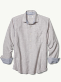 [Tommy Bahama� Men's Lanai Tides Stretch Linen Shirt]