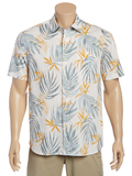 [Tommy Bahama� Men's Fiesta Fronds Camp Shirt]