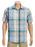 [Tommy Bahama� Fronde Dei Marmi Double Weave Camp Shirt]