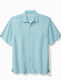 [Tommy Bahama� Marciano Tiles Camp Shirt]