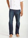 [Tommy Bahama� Men's Barbados Authentic Straight Leg Jeans]
