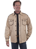 [Tonto Rim by Scully Men's Faux Sherpa Lined Jacket]