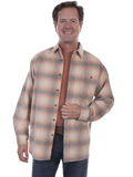 [Tonto Rim by Scully Men's Yarn Dyed Corduroy Plaid Shirt]