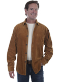 [Tonto Rim by Scully Men's Wide Wale Corduroy Shirt Jacket]