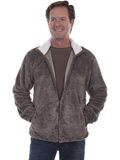 [Tonto Rim by Scully Men's Plush Zip Front Jacket]
