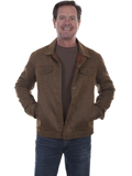 [Tonto Rim by Scully Men's Faux Moleskin Jean Jacket with Corduroy Lining]