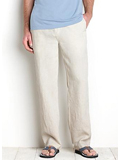 [Tommy Bahama� Men's Linen on the Beach Pants]