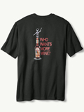 [Tommy Bahama� Men's Who Wants More Wine T-Shirt]