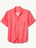 [Tommy Bahama� Men's Sea Glass Breezer Linen Camp Shirt]