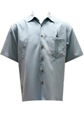 [Bamboo Cay Shake the Hook Embroidered Shirt]