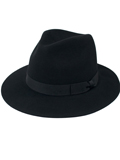 [San Diego Hat Co Women's Fedora with Bow]