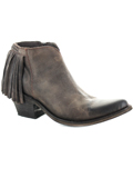 [Old Gringo� Women's Latika II Fringe Chocolate Bootie]