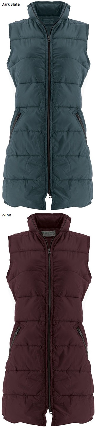 Solenne Water Resistant Puffer Vest