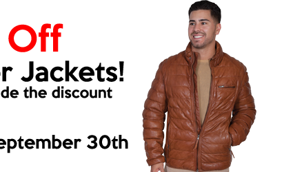 Leather Jacket Sale