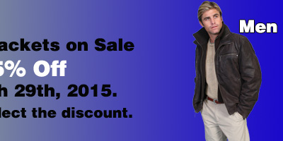 Leather Jacket Sale Men