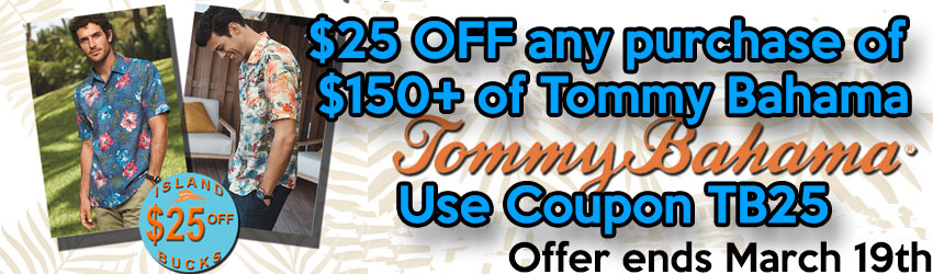 Tommy Bahama Sale