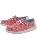 [Hey Dude Girl's Wendy Youth Sprinkles Print Cotton Canvas Shoe]