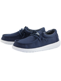[Hey Dude Boy's Wally Youth Cotton Canvas Shoe]