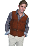[Mens Scully Men's Buffed Lamb Vest]