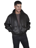 [Mens Scully Men's  Lamb Leather Bomber Jacket]
