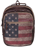 [Scully Patriot Collection Washed Cow Leather Backpack]