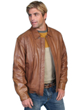 [Scully Mens - Men's Premium Lambskin Leather Jacket]