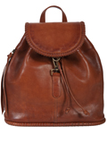 [Scully Lamb Leather Backpack]