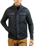 [JEREMIAH� Men's Dane Quilted Nylon Vest]