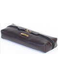 [Hidesign by Scully Vegetable Tanned Calf Cosmetic Case]