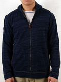 [Zenfari� Men's Hino Heather Terry Cloth Hoodie Jacket]