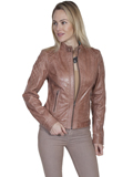[Scully  Ladies Leather Jacket]